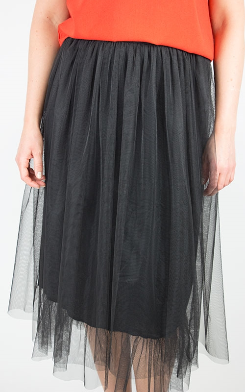 Pettit skirt-black