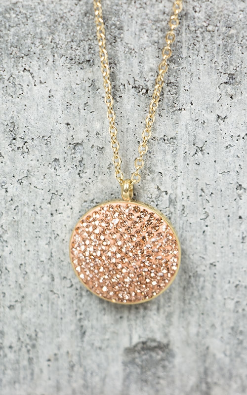 Zahla necklace-Gold