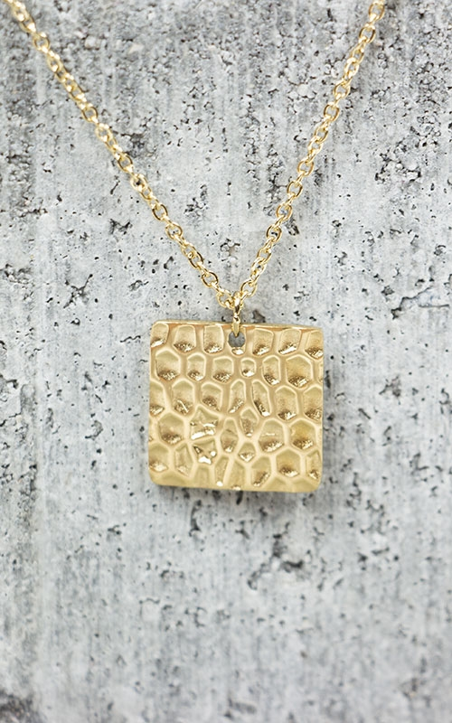 Ada necklace-gold