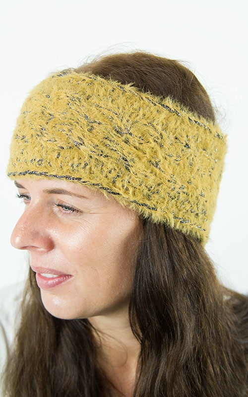 Lilly headband-yellow