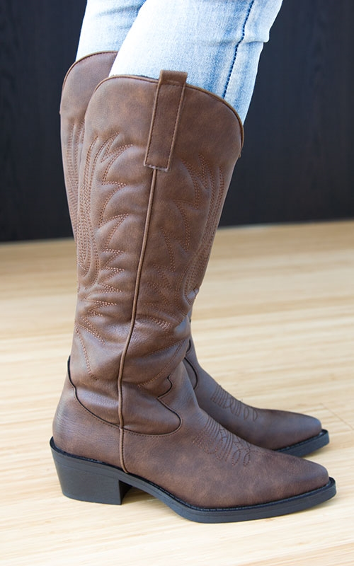 Lea boots-brown