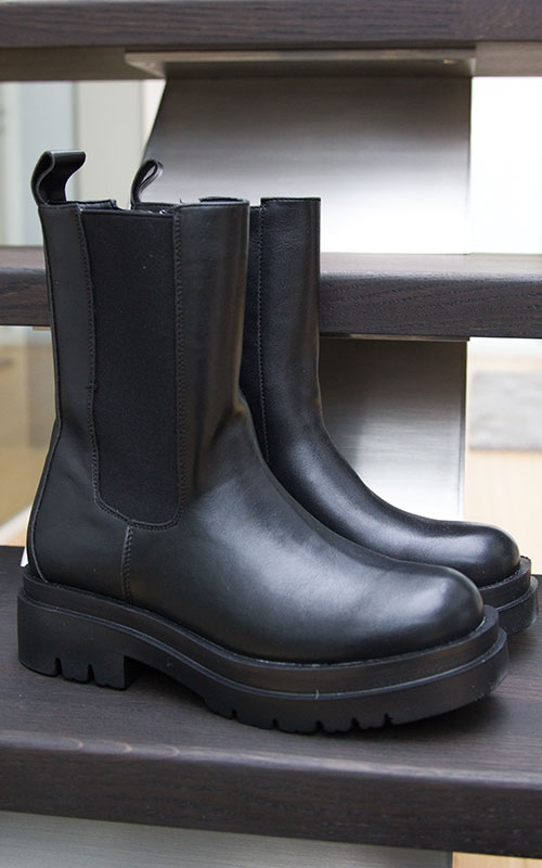 Chunky boots-black
