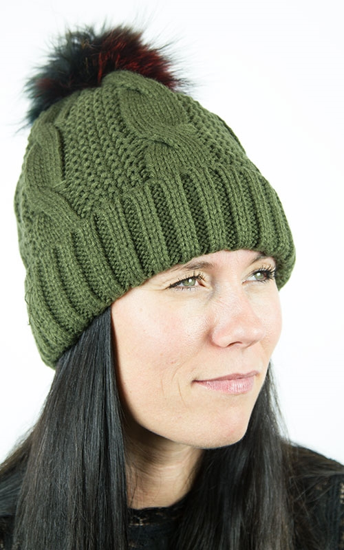 Sheila hat-green