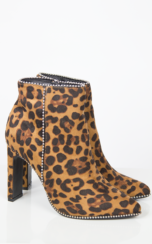 Ayo boots-leopard